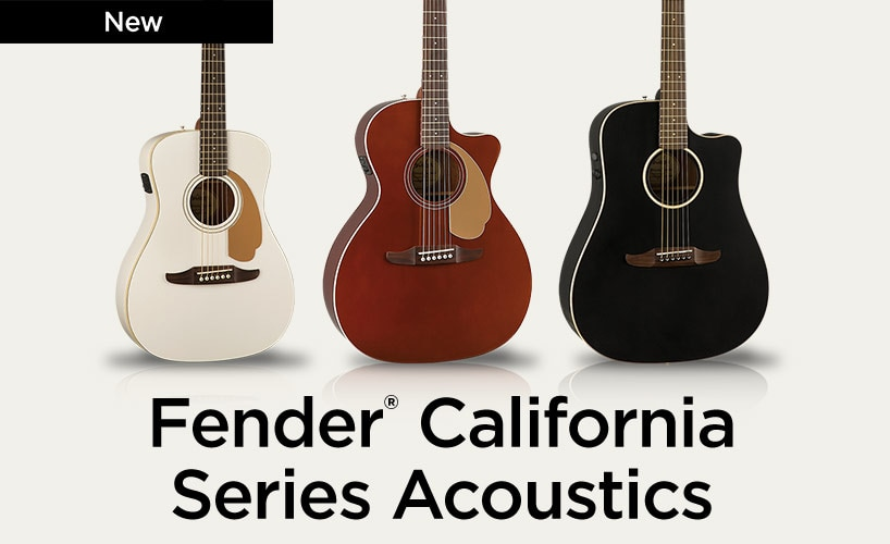 Fender California Series Acoustic.
