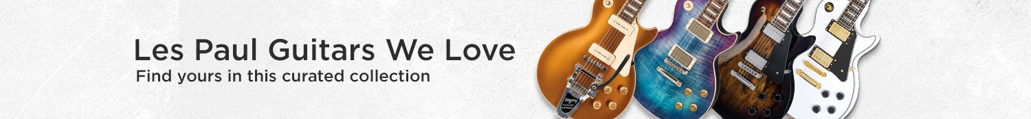 Les paul guitars we love