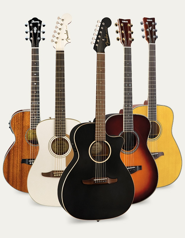 Acoustic Fest Sweepstakes, image of guitars