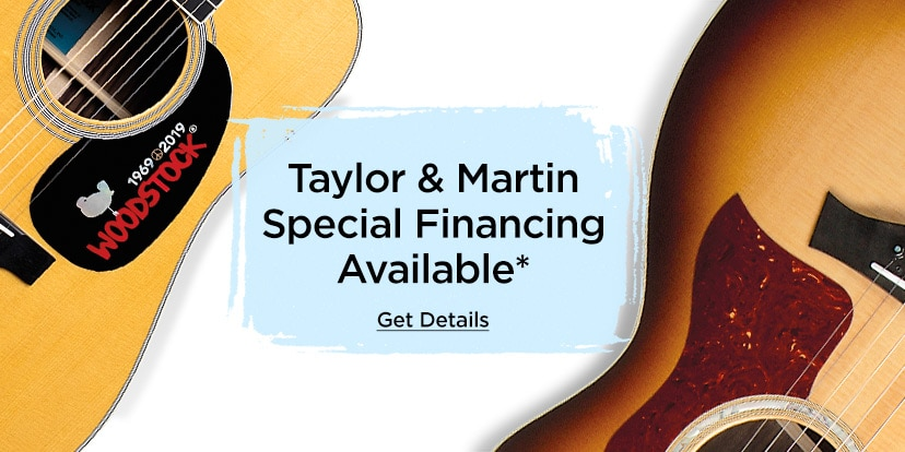 Taylor and Martin special financing available. Get details.