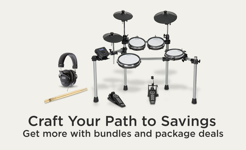 Craft Your Path to Savings. Get more with bundles and package deals.