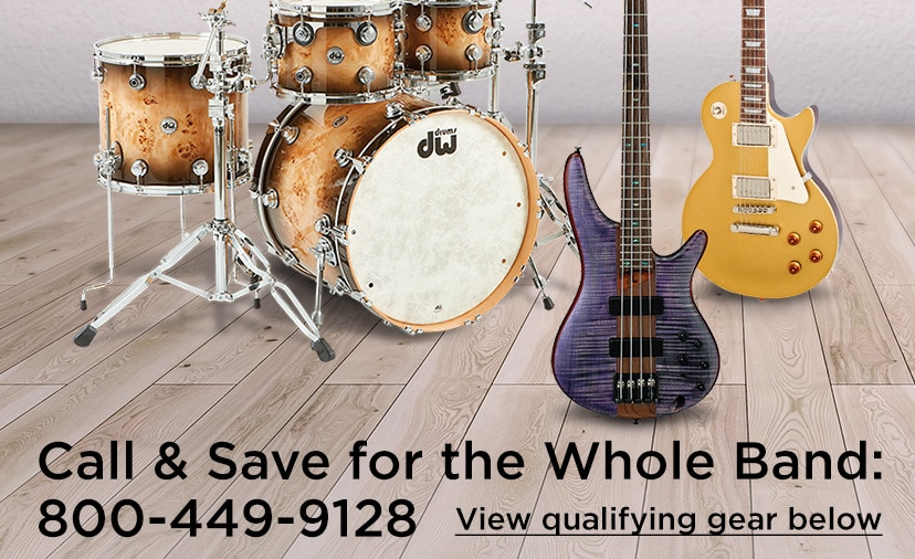 Call and save for the whole band 800 449 9128 View qualifying gear below.