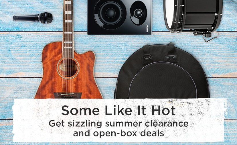 Some like it hot. Get sizzling summer clearance and open-box deals