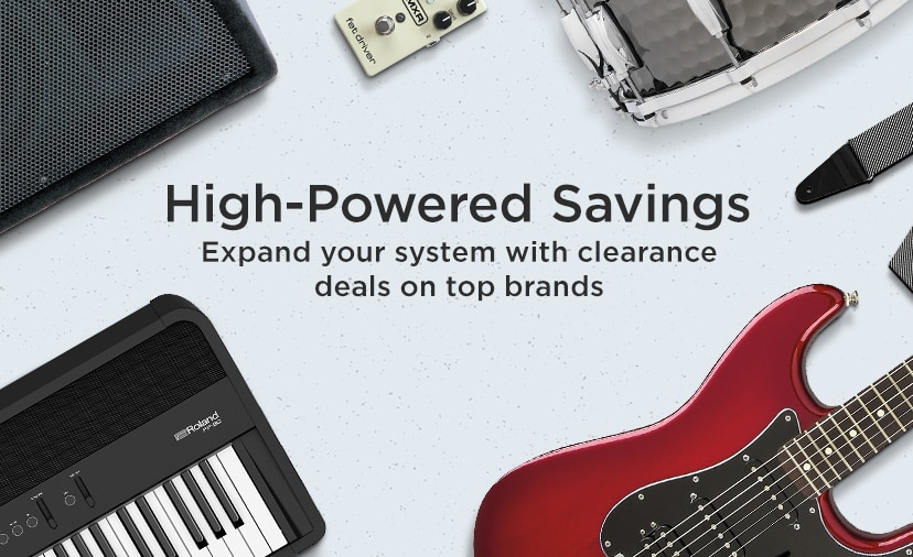 High-powered savings, expend your system with clearance deals on top brands.