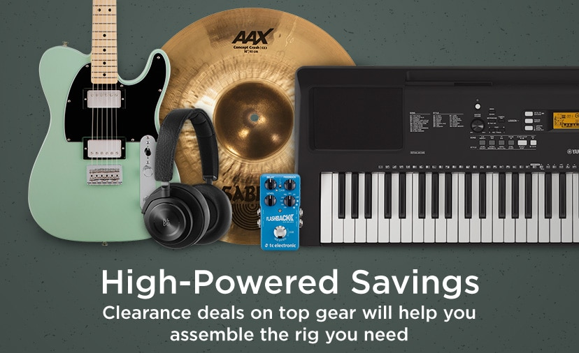 High powered savings. Clearance deals on top gear will help you assemble the rig you need.
