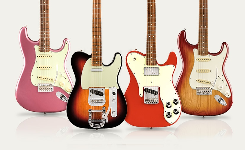 New Fender Vintera Series. A hottest hits collection of favorite features from vintage eras.