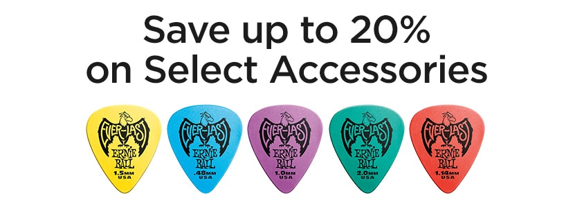 Save up to 20 percent on select accessories.