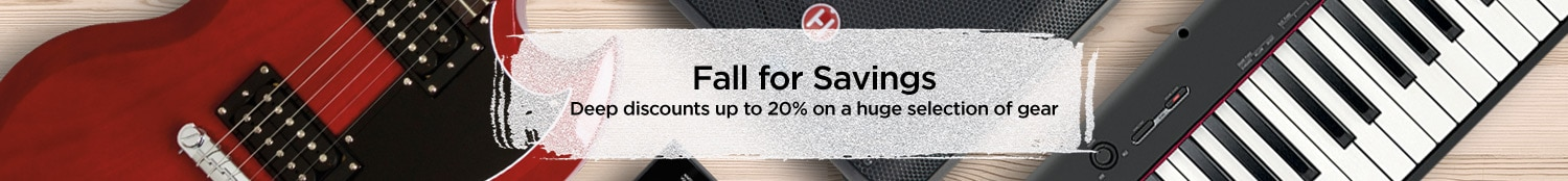 Fall for Savings, Deep discounts up to 20% on a huge selection of gear.