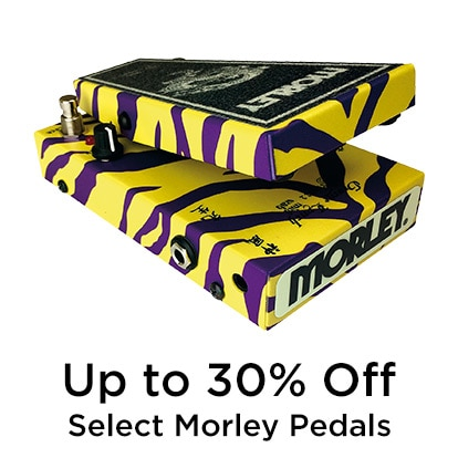 Up to 30 percent Off Morley Pedals