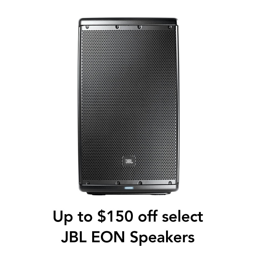 Up to $150 off select JBL EON Speakers