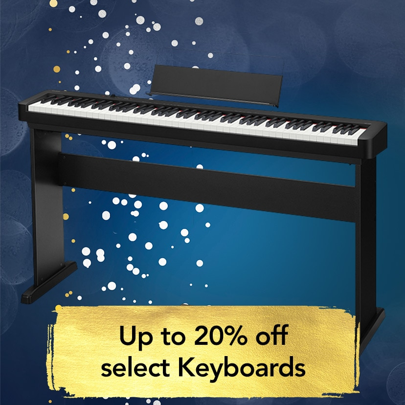 Up to 20 percent off select keyboards