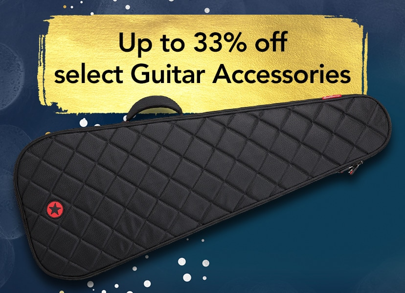 Up to 33% off select Guitar Accessories