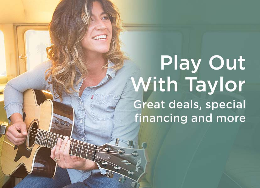 <h1>Play Out With Taylor.</h1> Great deals, special financing and more.