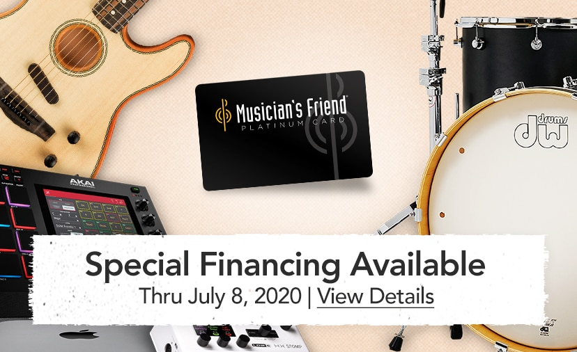 Special Financing Available - thru July 8, 2020 - View Details