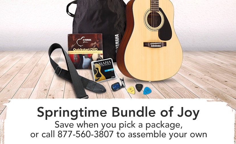 Springtime Bundle of Joy. Save when you pick a package, or call 877-560-3807 to assemble your own.
