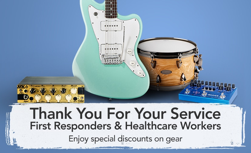 Thank you for your service. First responders and healthcare workers. Enjoy special discounts on gear.