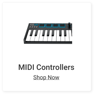MIDI Controllers. Shop Now.