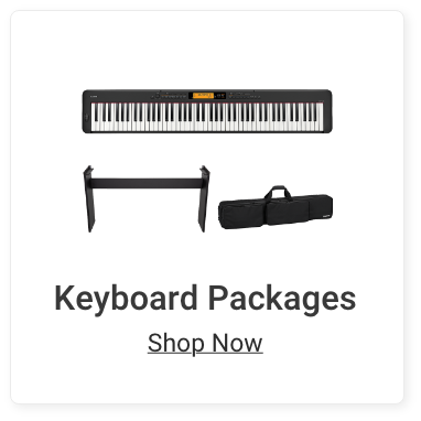 Keyboard Packages. Shop Now.