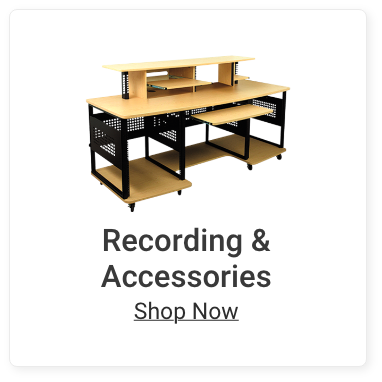 Recording and Accessories. Shop Now.