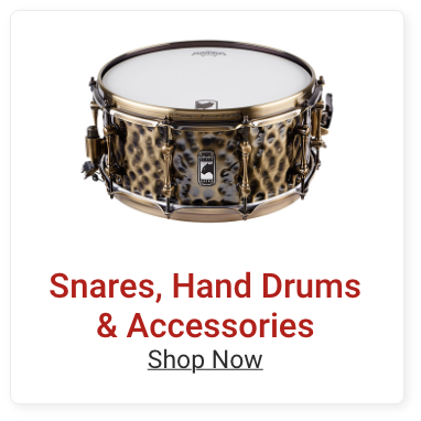 Snares, Hand Drums and Accessories. Shop Now.