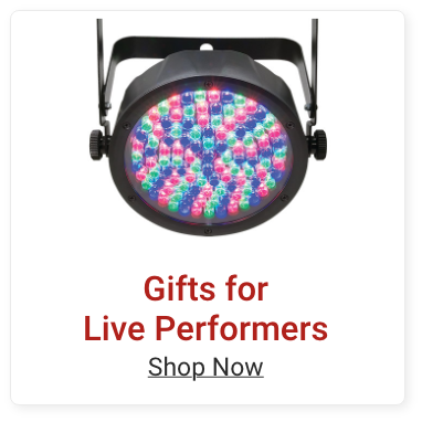 Gifts for Live Performers. Shop Now.