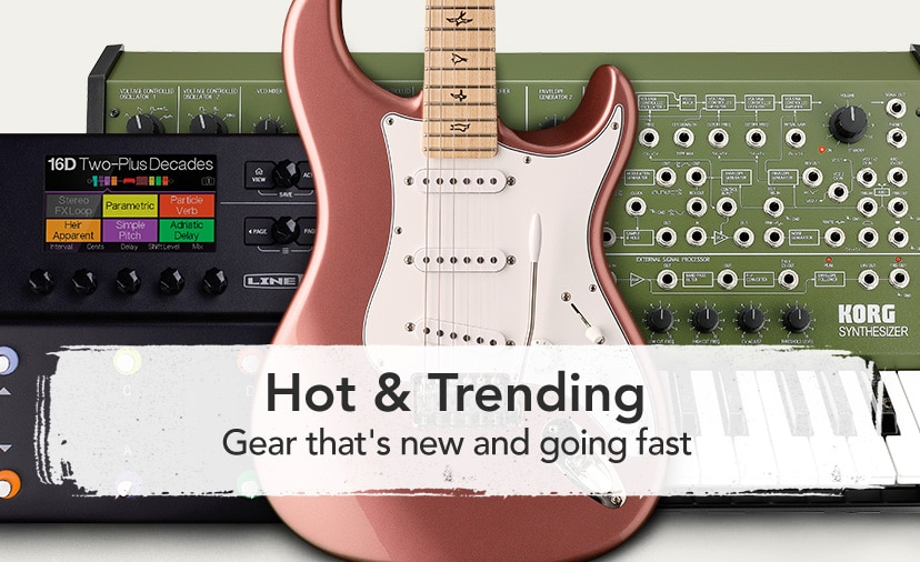 hot and trending. Gear that's new and going fast