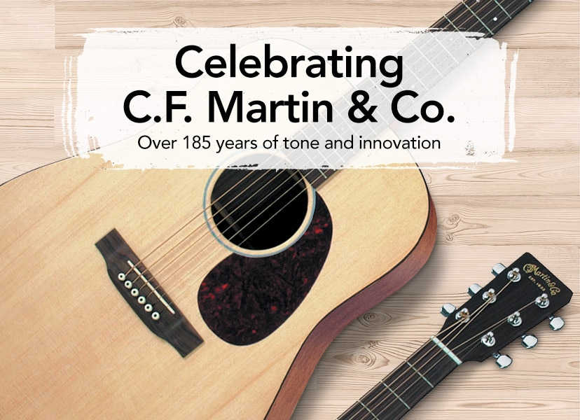 Celebrating C.F. Martin & Co. - Over 185 years of tone and innovation.