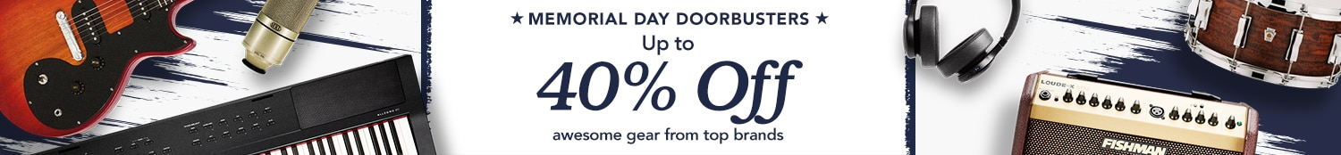 Memorial Day Doorbusters. Up to 40 percent off awesome gear from top brands