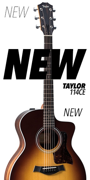New Taylor 114CE