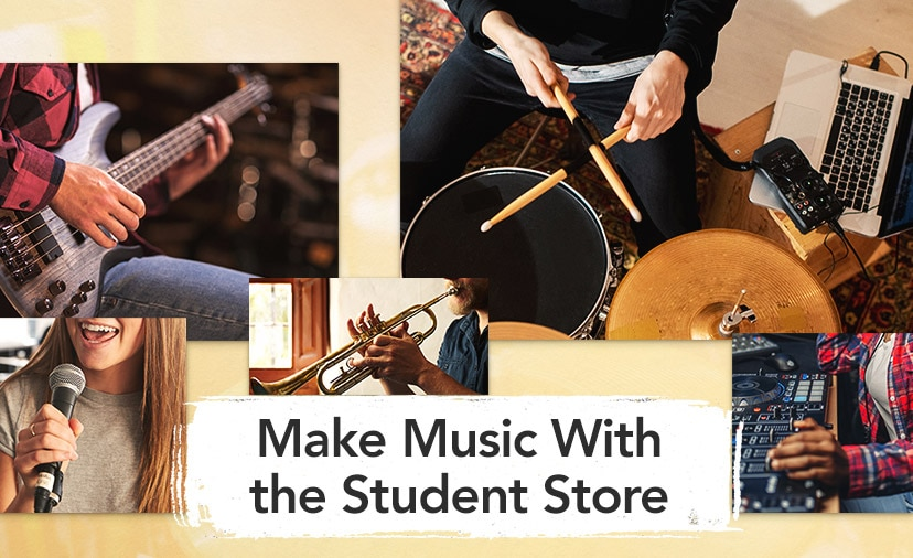 Make More Music With the Student Store. Curated for students at every level, with top gear for learning.