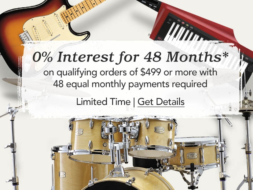 0 percent interest for 48 months on qualifying orders of 499 dollars or more with 48 equal monthly payment required. Limited Time. Get Details.