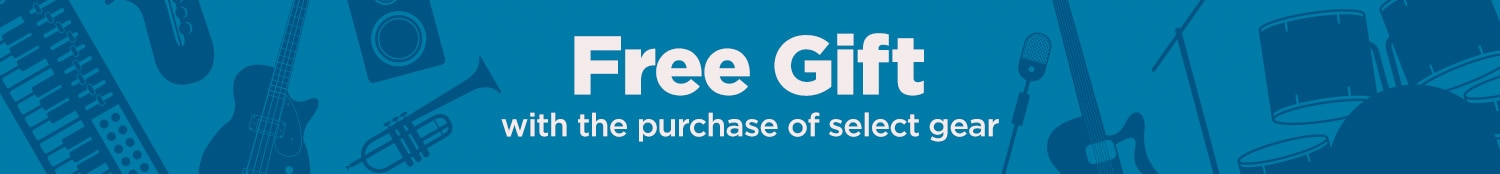 Free Gift with purchase of select gear