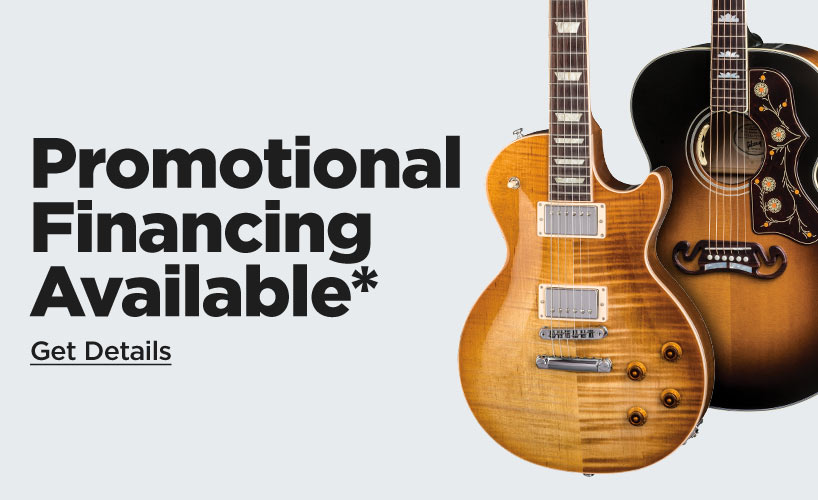 Gibson 48 Month Financing