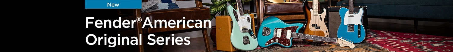 New Fender American Original Series.