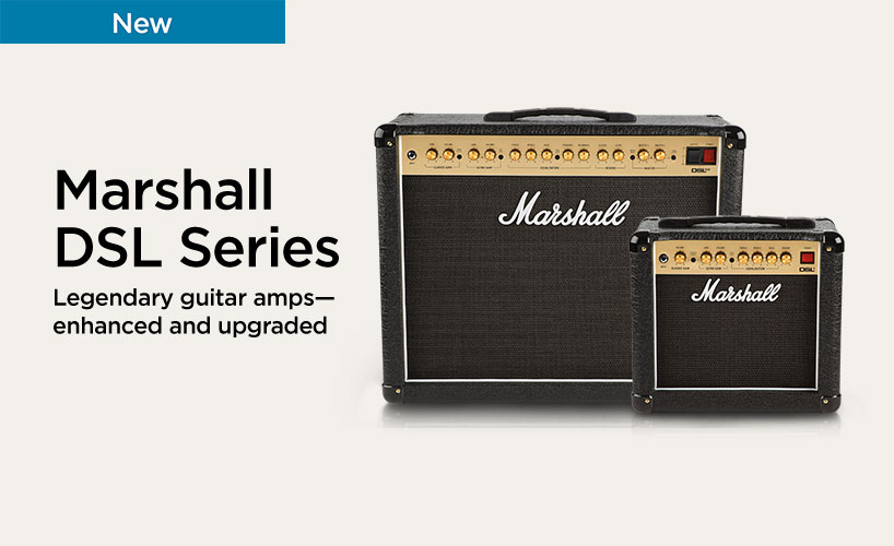Marshall DSL Amplifiers | Musician's Friend on