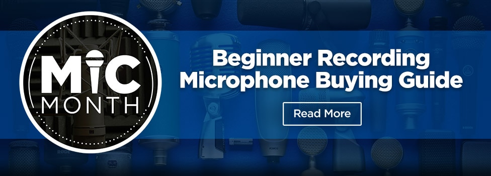 View Beginner Recording Microphone Buying Guide