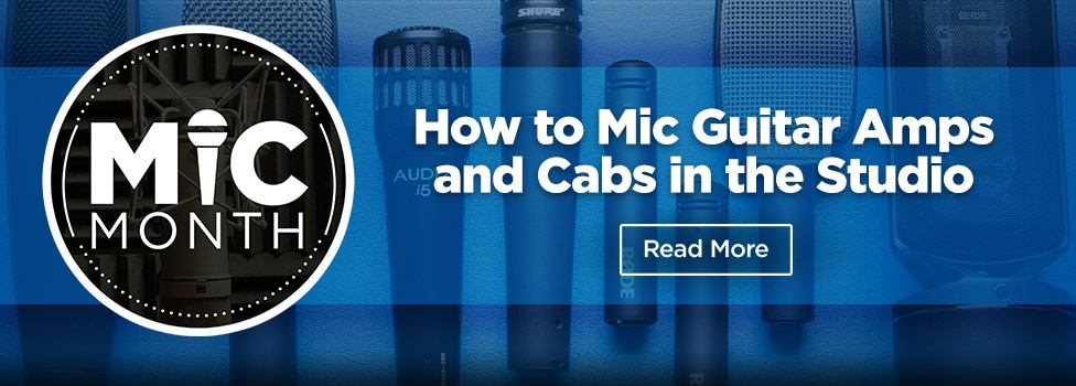 View How to Mic Guitar Amps and Cabs in the Studi