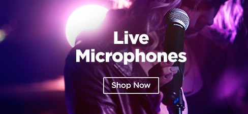 Shop All Live Microphones