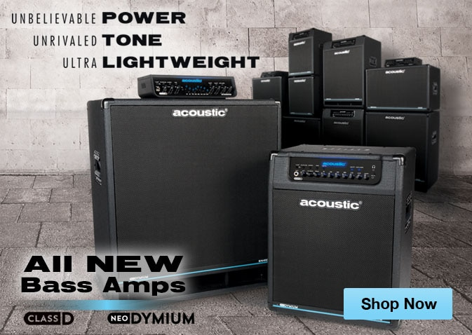 Acoustic Class D Neo Series Bass Amps