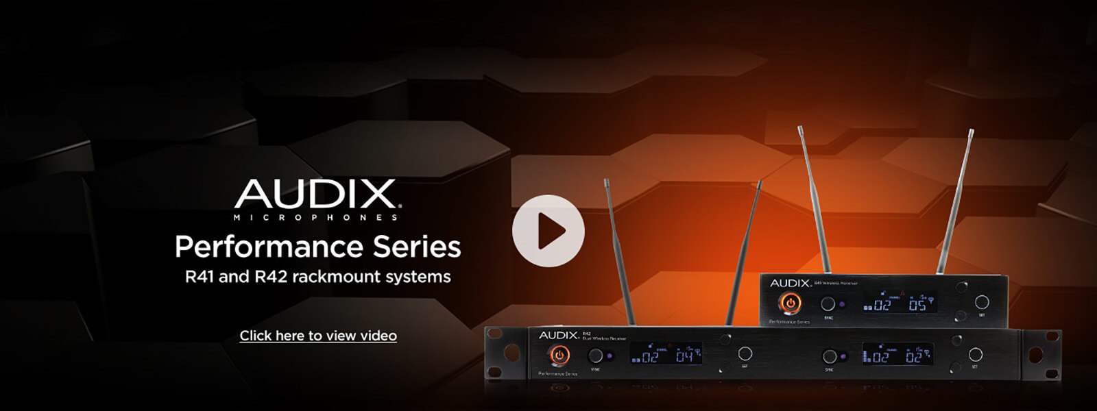 Audix microphones performance series video