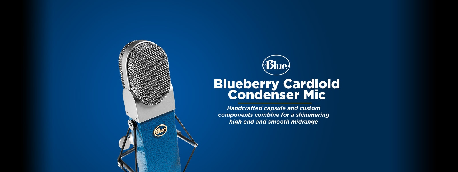BLUE�Blueberry Cardioid Condenser Microphone