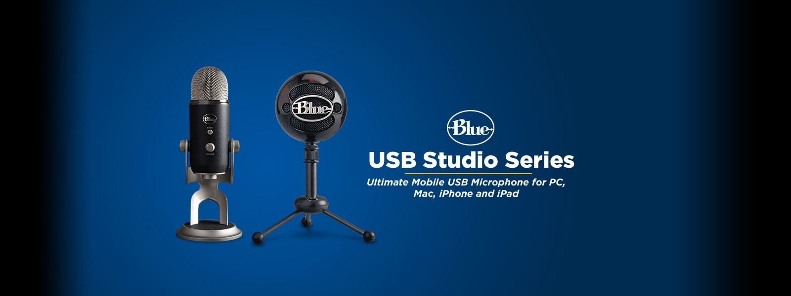 BLUE�USB Studio Series