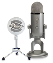 blue microphone USB Series