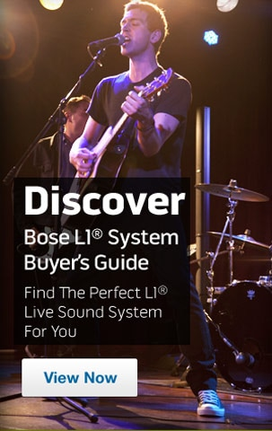 Discover Bose L1 system