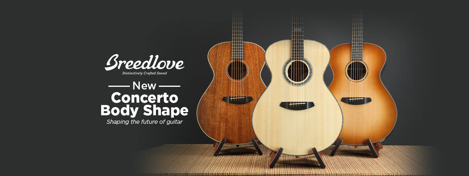 Breedlove Concerto Series Acoustic Guitars