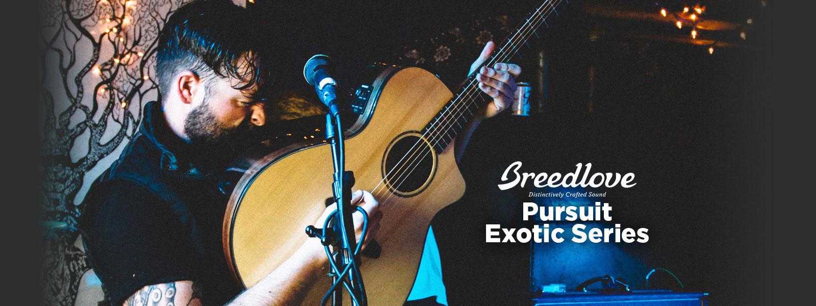 Breedlove Pursuit Exotic Series Acoustic Guitars