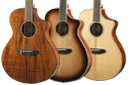 Breedlove Pursuit Exotic Series Acoustic Guitars