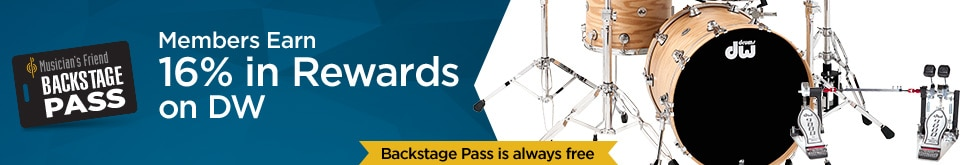 Backstage Pass Members Earn six teen percent in rewards on D W select items