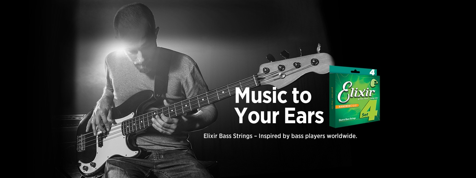 Elixir Bass Guitar Strings