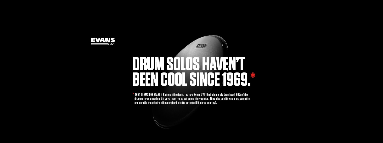 Drum solos have not been cool since 1989